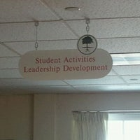 Photo taken at WNE Office of Student Activities & Leadership Development by Laura R. on 3/28/2011