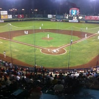 Photo taken at Estadio Nelson Barrera Romellón by Gib M. on 5/17/2012