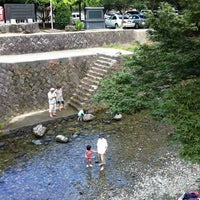 Photo taken at 猪野川 by かりん on 8/3/2011