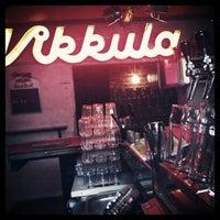 Photo taken at Bar Vikkula by Miselle R. on 4/13/2012