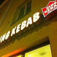 Photo taken at King Kebab by Joni on 10/13/2011