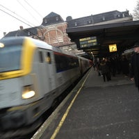 Photo taken at Gare de Verviers-Central by Pierre O D. on 1/28/2012