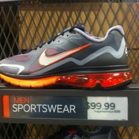 Photo taken at Nike Factory Store by Thomas P. on 1/2/2012
