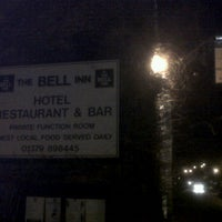 Photo taken at The Bell Inn Rickinghall by Al K. on 1/14/2012