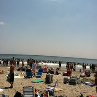 Photo taken at Scarborough State Beach by Rohit M. on 6/21/2012