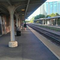 Photo taken at Metra - Evanston (Davis Street) by Matthew T. on 8/16/2011