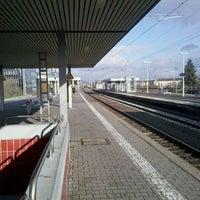 Photo taken at Frankfurt Niederrad Railway Station by onthe r. on 2/19/2012