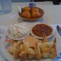 Photo taken at O'Steen's Seafood Restaurant by James N. on 4/13/2012