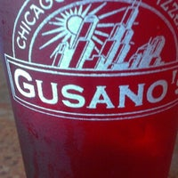 Photo taken at Gusano's Chicago Pizza by Brad B. on 8/17/2012