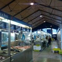 Photo taken at Mercado da Magdalena by Fernando S. on 9/5/2012