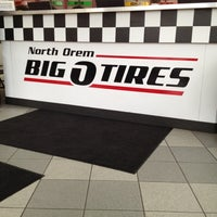 Photo taken at Big O Tires by Brent A. on 3/14/2012