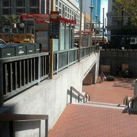 Photo taken at Powell MUNI Metro Station by David K. on 10/14/2011