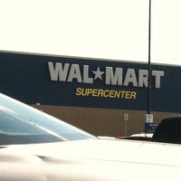 Photo taken at Walmart Supercenter by Morgan P. on 8/26/2011