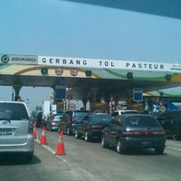 Photo taken at Pasteur Toll Gate by Arya H. on 8/27/2011