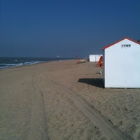Photo taken at Strand Knokke-Heist by Alexandre C. on 3/26/2012