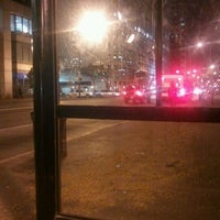 Photo taken at IndyGo Bus Stop by Amanda S. on 10/12/2011
