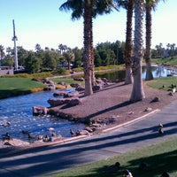 Photo taken at Rhodes Ranch Golf Club by Gabriela on 2/3/2012