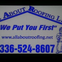 Photo taken at All About Roofing Co., LLC by 🎼Jeana T. on 7/20/2011