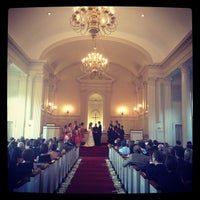 Photo taken at Robert Carr Chapel by Tracy A. on 5/20/2012
