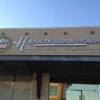 Photo taken at Fuji's Hibachi Asian Fusion by Josh on 8/1/2012