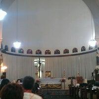 Photo taken at Gereja Santa Theresia by Fransiskus Andi I. on 12/2/2011