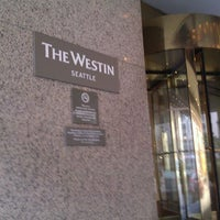 Photo taken at The Westin Seattle by Rand F. on 2/16/2012