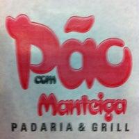 Photo taken at Pão Com Manteiga - Padaria & Grill by Leonardo P. on 11/25/2011