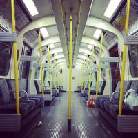 Photo taken at Hammersmith London Underground Station (Circle and H&C lines) by Ming Y. on 3/29/2012