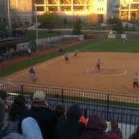 Photo taken at Tech Softball Park by Maria L. on 4/6/2012