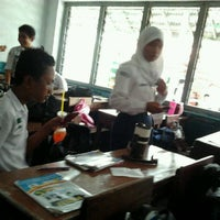 Photo taken at SMP Negeri 7 Medan by Dewi A. on 10/22/2011