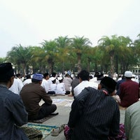 Photo taken at Masjid Jami' Al-Baitul Amien Jember by nofearbyu on 11/5/2011