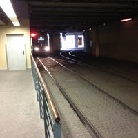 Photo taken at Station Perrache [T1,T2] by Stéphane B. on 1/24/2012