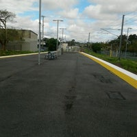 Photo taken at Wynnum Railway Station by Karina L. on 10/27/2011