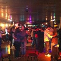 Photo taken at La Viruta Tango Club by Tom B. on 9/19/2011