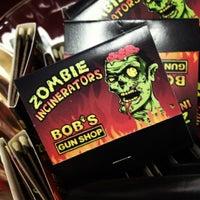 Photo taken at Bob's Gun & Tackle Shop by Jennifer T. on 8/18/2012