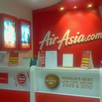 Photo taken at Air Asia Sales Office Patong by Sophia M. on 8/26/2011