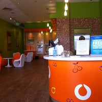 Photo taken at Orange Leaf Frozen Yogurt by Bradley C. on 2/20/2011