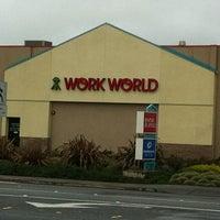Photo taken at Work World by Deborah P. on 2/20/2012