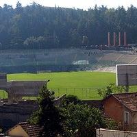 Photo taken at Stadio Tommaso Fattori by Maurizio M. on 8/12/2012
