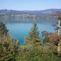 Photo taken at Steinbach am Attersee by Wolfgang B. on 9/26/2011