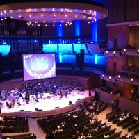 Photo taken at Francis Winspear Centre by Jason K. on 2/19/2012