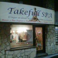 Photo taken at Takefull Spa by Andres Z. on 1/12/2012