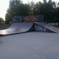 Photo taken at Ghisi Skate Park by Piercarlo S. on 8/9/2012