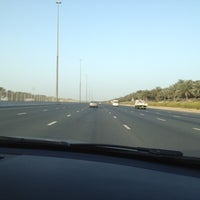 Photo taken at Sheikh Mohammed Bin Zayed Rd by Marinna M. on 3/16/2012