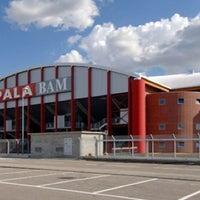 Photo taken at PalaBAM by Cristina P. on 12/21/2011