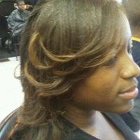 Photo taken at Shear Perfection Hair Salon & Barber/Braiding Shop by Lil-Bit on 12/10/2011
