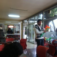 Photo taken at UDD cafeteria fumadores by Sebastián C. on 5/18/2011