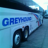 Photo taken at Greyhound Bus Lines by Christopher P. on 2/22/2012