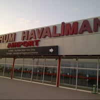 Photo taken at Erzurum Airport (ERZ) by Mustafa I. on 8/13/2012