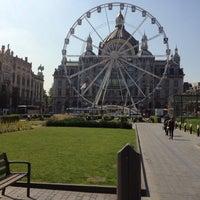 Photo taken at Koningin Astridplein by Daniel V. on 7/25/2012